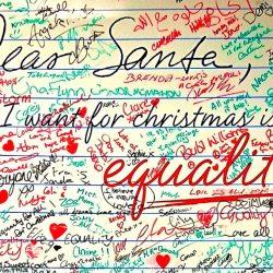 酷新聞:北愛爾蘭超巨型明信片 盼聖誕老人帶來婚姻平權