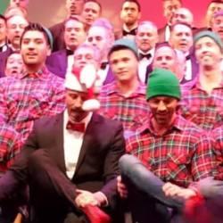 酷影音:同志合唱團聖誕音樂會 自創「手舞」大開眼界