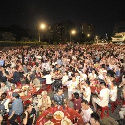 酷新聞:凱道千人流水席 祝福首批同志伴侶結婚