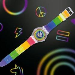 酷新聞:同志驕傲月 Swatch 推出彩虹手錶
