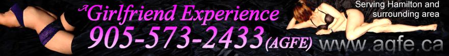 a Girlfriend Experience / agfe / Hamilton / 905-573-AGFE / escorts / escort agency