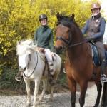 En tur ud i det blå på hesteryg