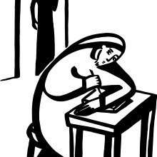 icon2-lectionary-25c-bw-clip-art