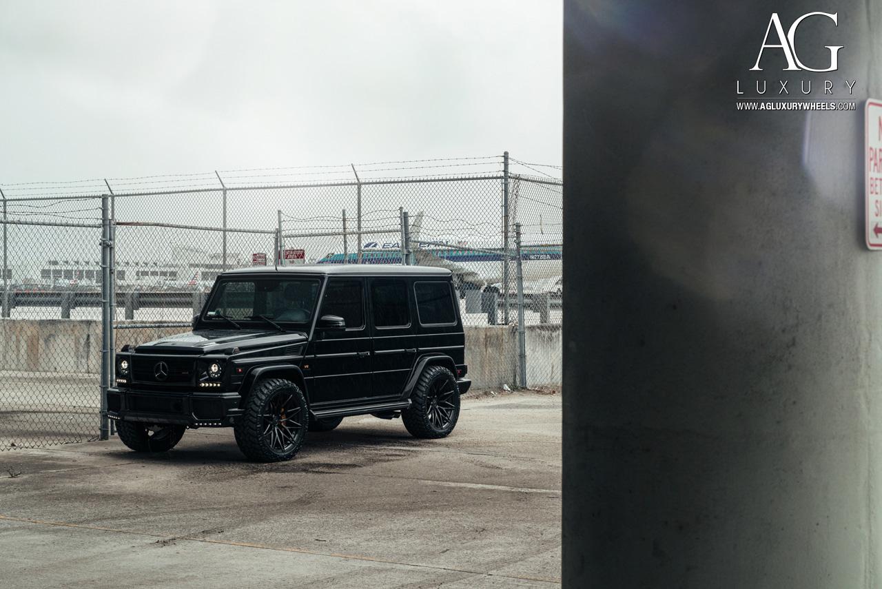 Wallpaper Design Black Ag Luxury Wheels Mercedes Benz G63 Amg Forged Wheels