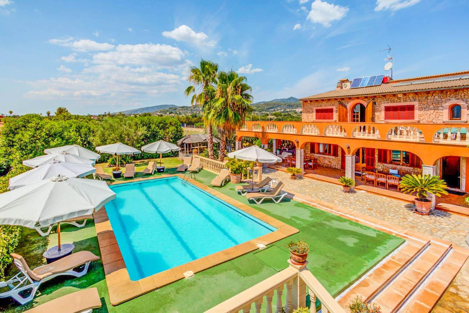 Ferienhaus Mit Pool Zakynthos Ses Porrasses Mallorca Selva Mallorca Villas To Rent With