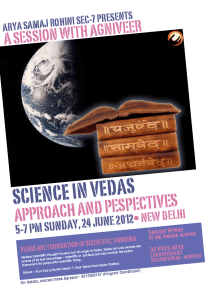 'Science in Vedas' Session With Agniveer
