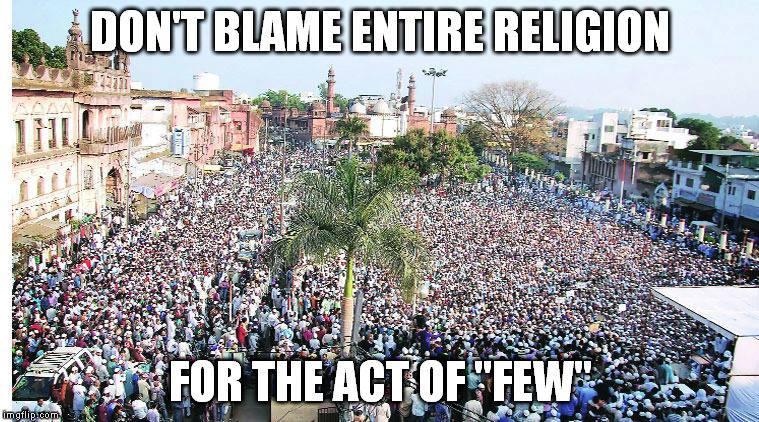 Muslim mob