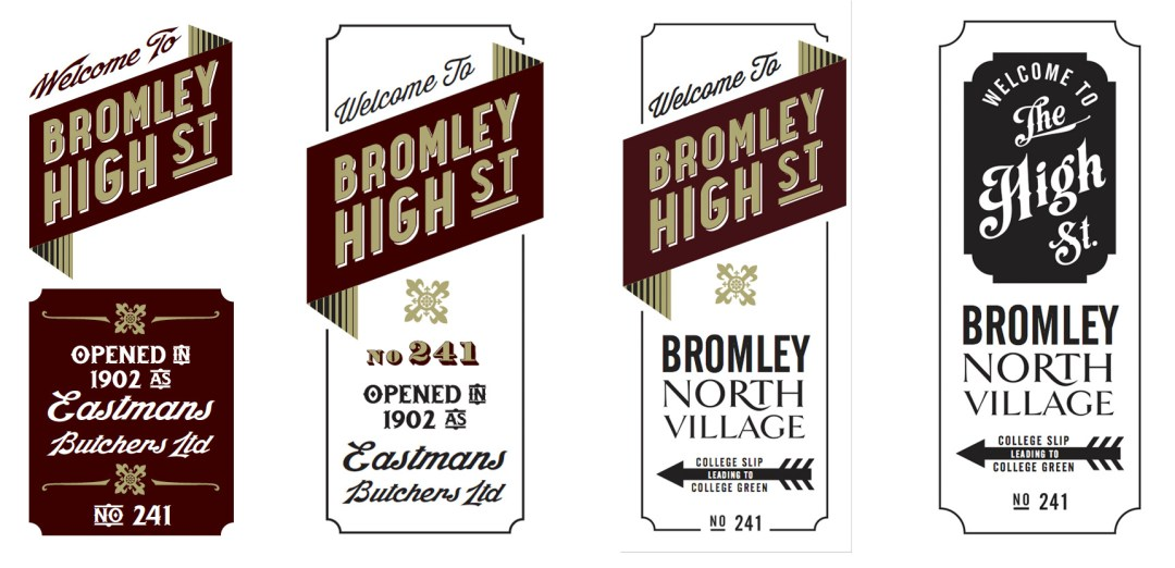 BROMLEY GHOST SIGNS EVOLUTION