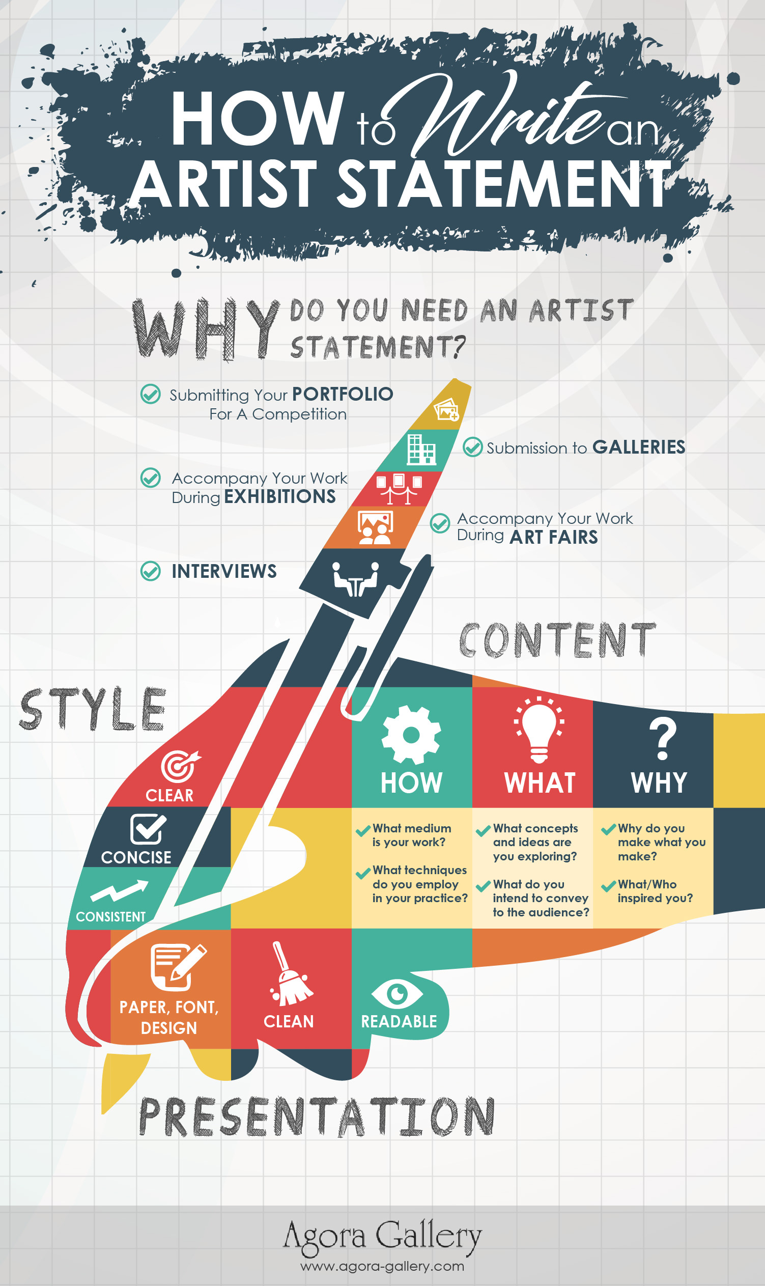 Art Gallery Artist How To Write An Artist Statement Tips From The Art Experts