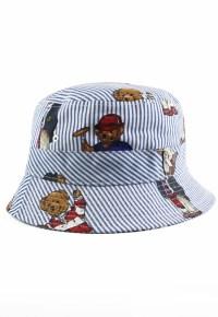 522680557eb √ Polo Ralph Lauren Beige Cotton Chino Bucket Hat S M