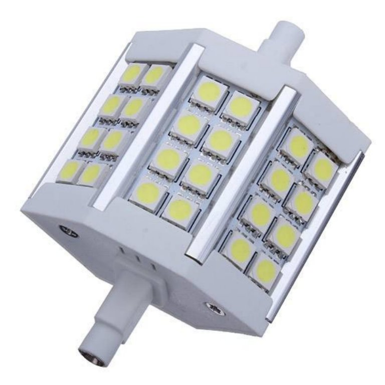 Bombilla Led R7s 78mm Smd5050 5w Agraled - Casquillo Led