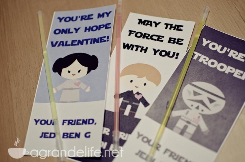Free Star Wars Printable Valentines - A Grande Life