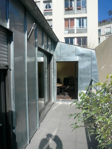 Extension Toit Terrasse Paris Surevelation Maison De Ville : Loft Paris, Extension D'une