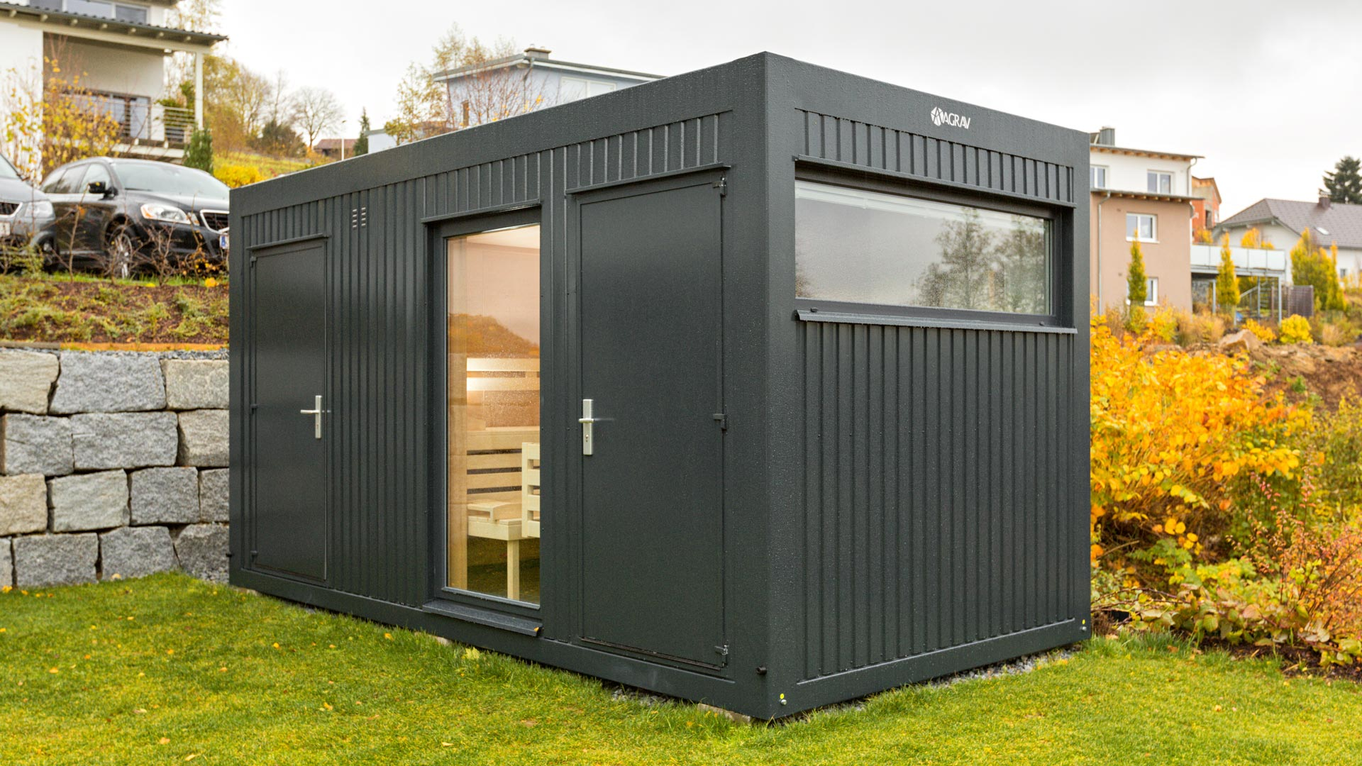 Container Haus Containex Wohncontainer Agrav Container Modulsysteme Gmbh