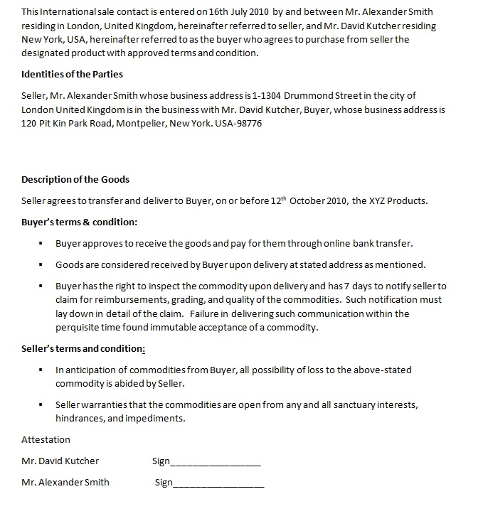 Export Services Agreements Agreement Sample Templates - export contract sample