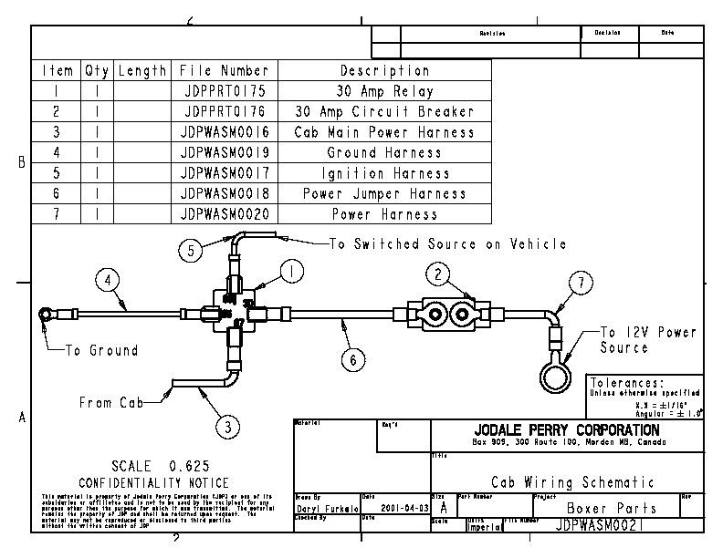 New Holland MC22 MC28 MC35 Soft Side ROPS Parts List