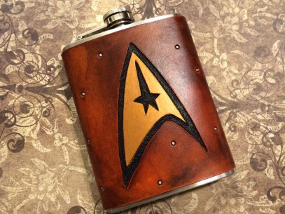 Star Trek Command Flask