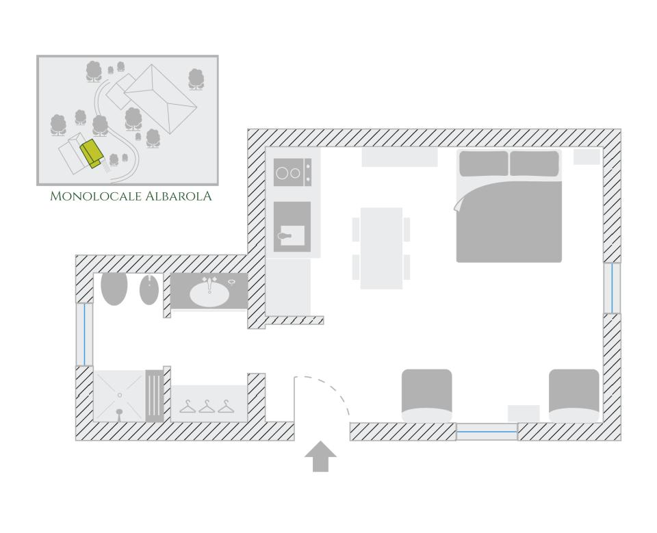 Albarola Studio Apartment