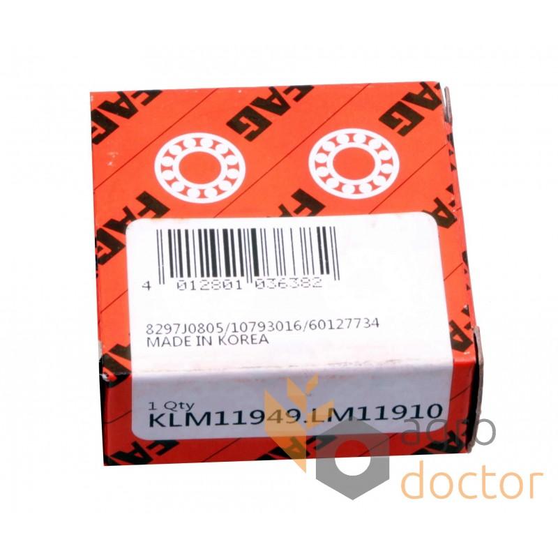 LM11949/LM11910 FAG Tapered roller bearing - OEMJD8188, JD8906