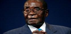 Zimbabwean President Robert Mugabe.  REUTERS/Rogan Ward/File Photo