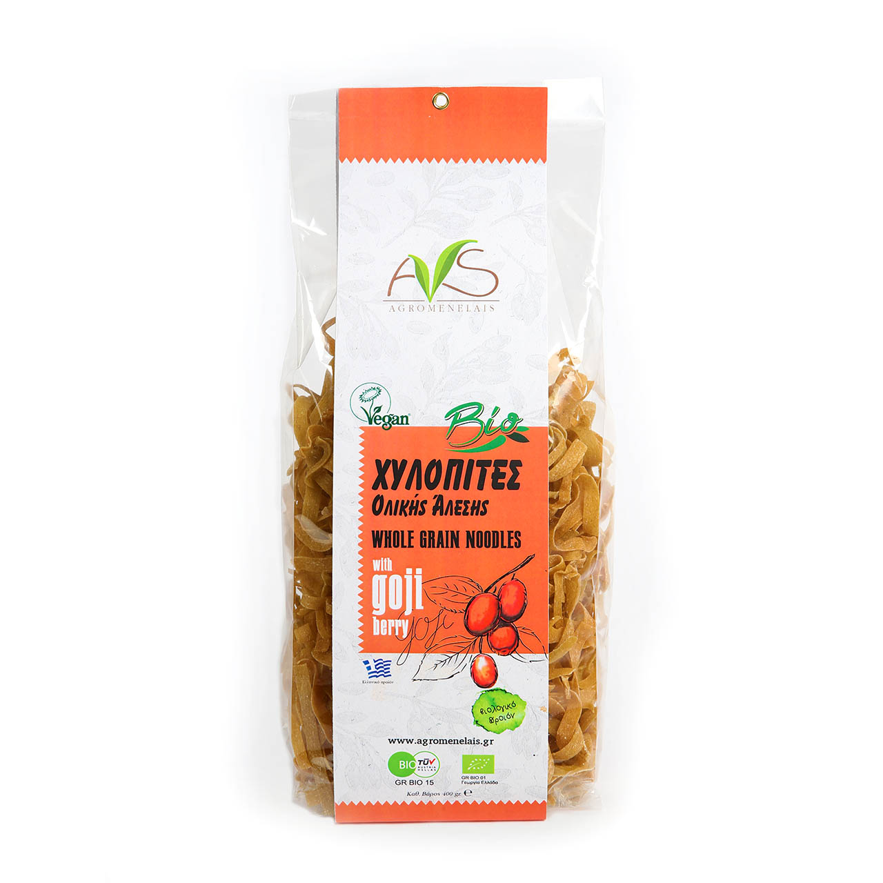 Grain Bio Whole Grain Noodles Agromenelais