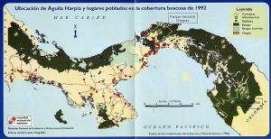 mapa-panama-aguila-harpia
