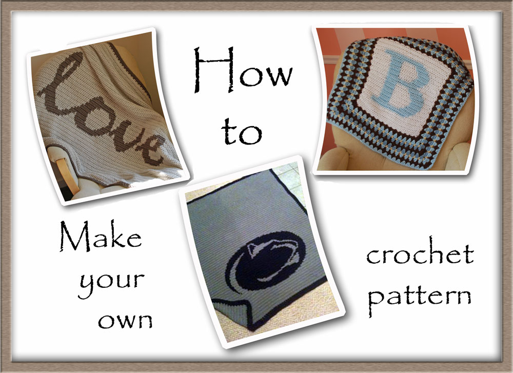 Crochet Graph Pattern-making Tutorial A Handmade Year - making graph paper in word