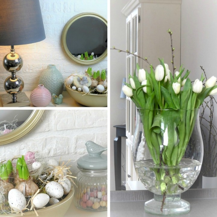 Collage of Spring Decor Ideas