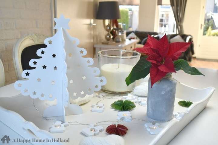 Christmas Home Tour - Holiday Decor Ideas For A Small Open Plan Living Room