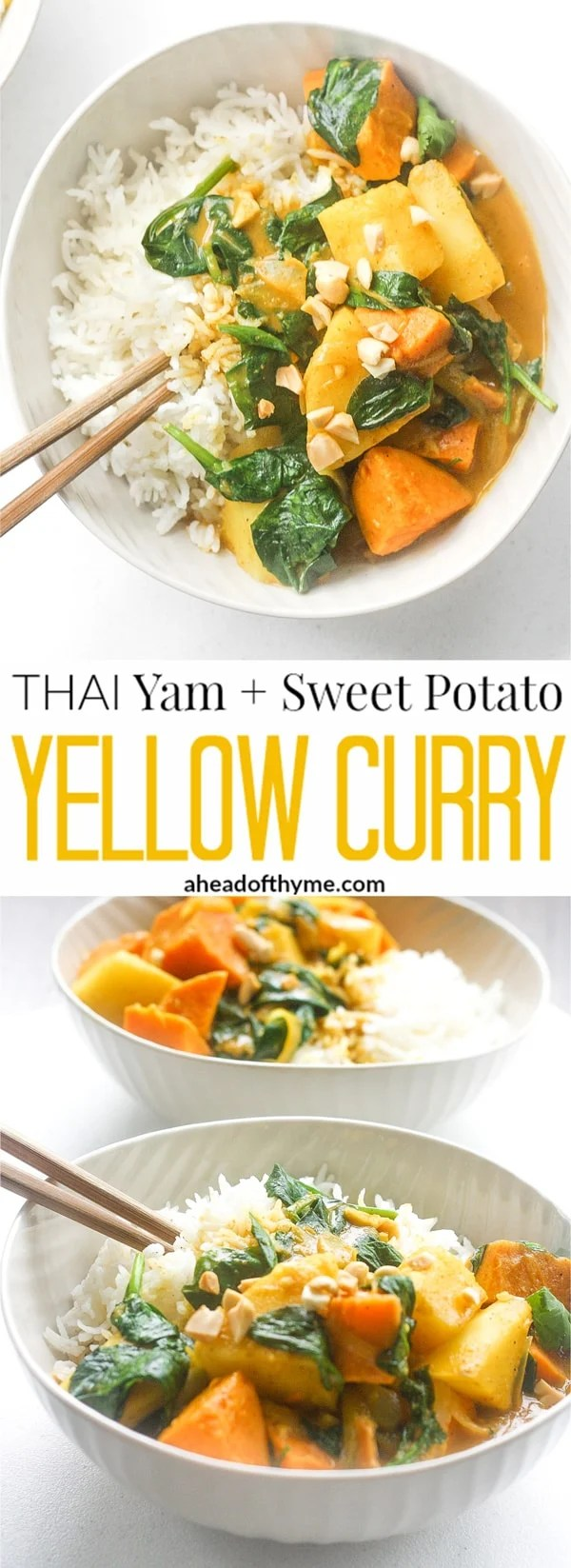 Cuisine Yam Thai Yam And Sweet Potato Yellow Curry