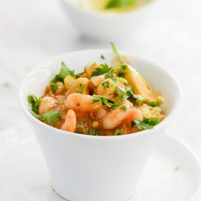 Simple Shrimp Ceviche