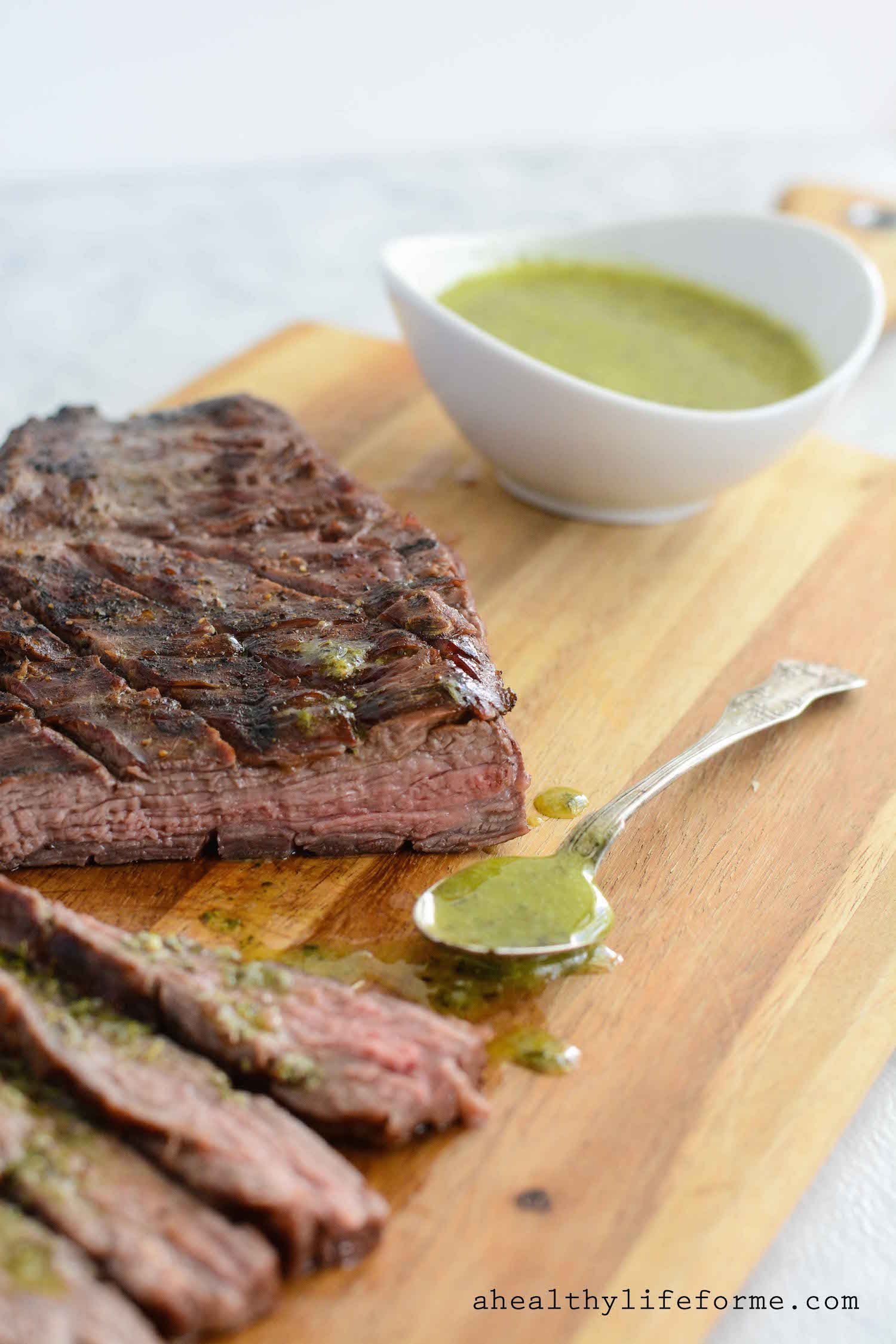 how to make a sauce with steak juice