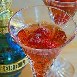 Kir Royale Champagne Cocktail