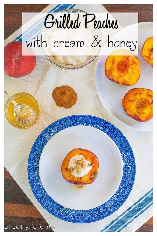 Summer Peaches used in a Healthy Dessert