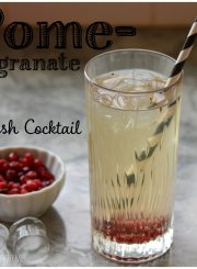 Pomegranate Crush Cocktail Recipe | ahealthylifeforme.com