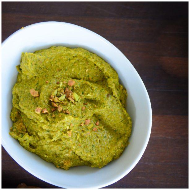 Pumpkin Pesto Healthy Appetizer Dip
