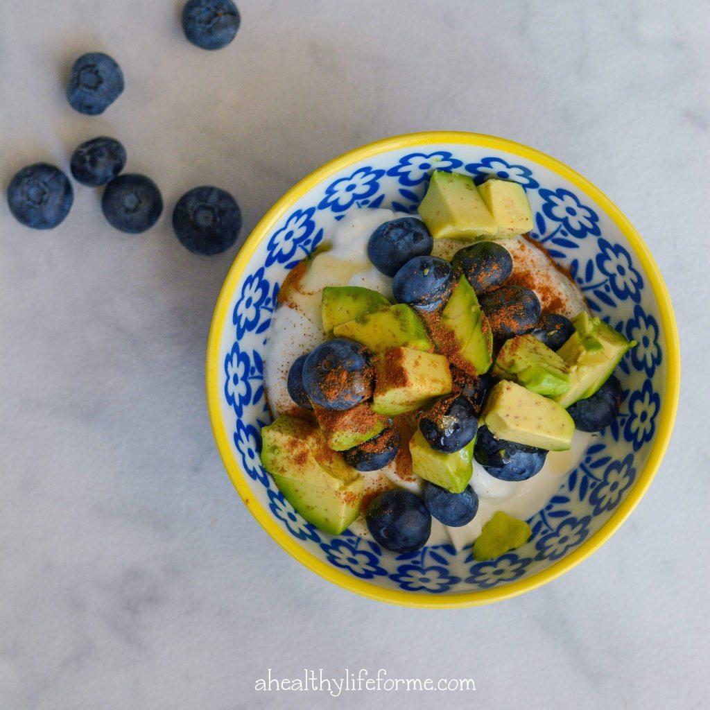 Blueberry Avocado Parfait