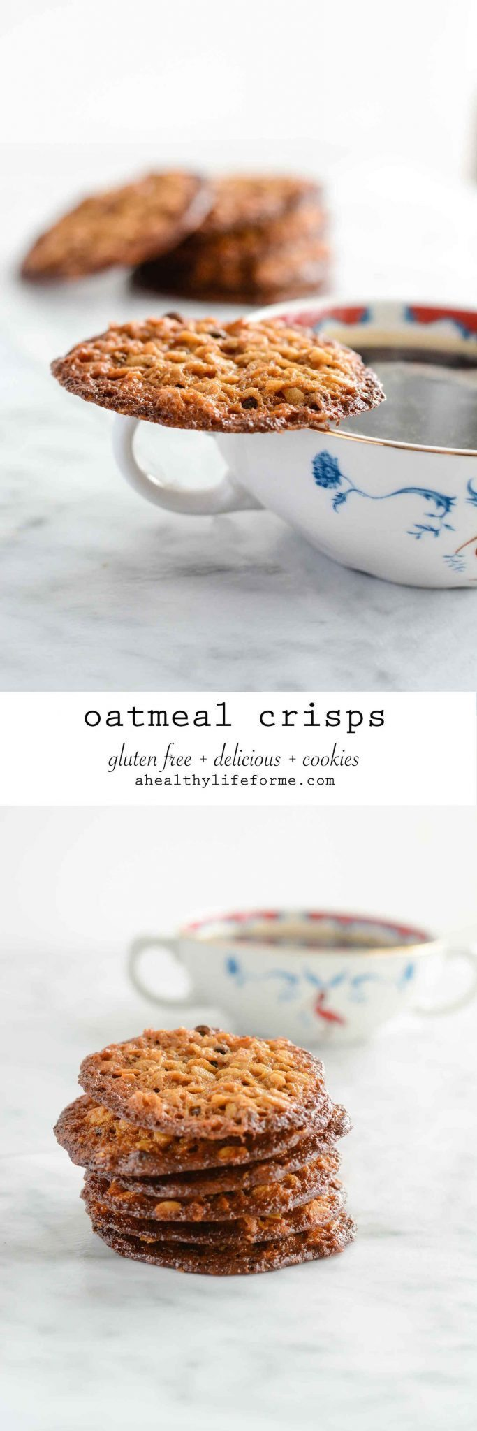 Oatmeal Crisps - A Healthy Life For Me