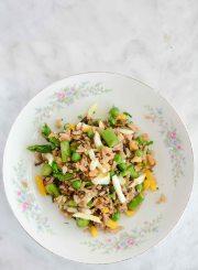 Spring Rice Salad Dairy Free Gluten Free Recipe | ahealthylifeforme.com