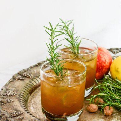 Bourbon Bomber Cocktail