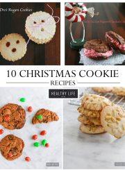 10 Christmas Cookie Recipe | ahealthylifeforme.com