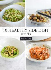 10 Healthy Holiday Side Dish Recipes | ahealthylifeforme.com