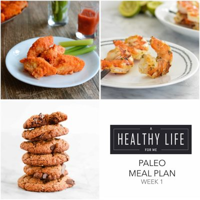 Meal Plan Week 4 {paleo}