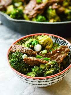 Paleo Beef and Broccoli