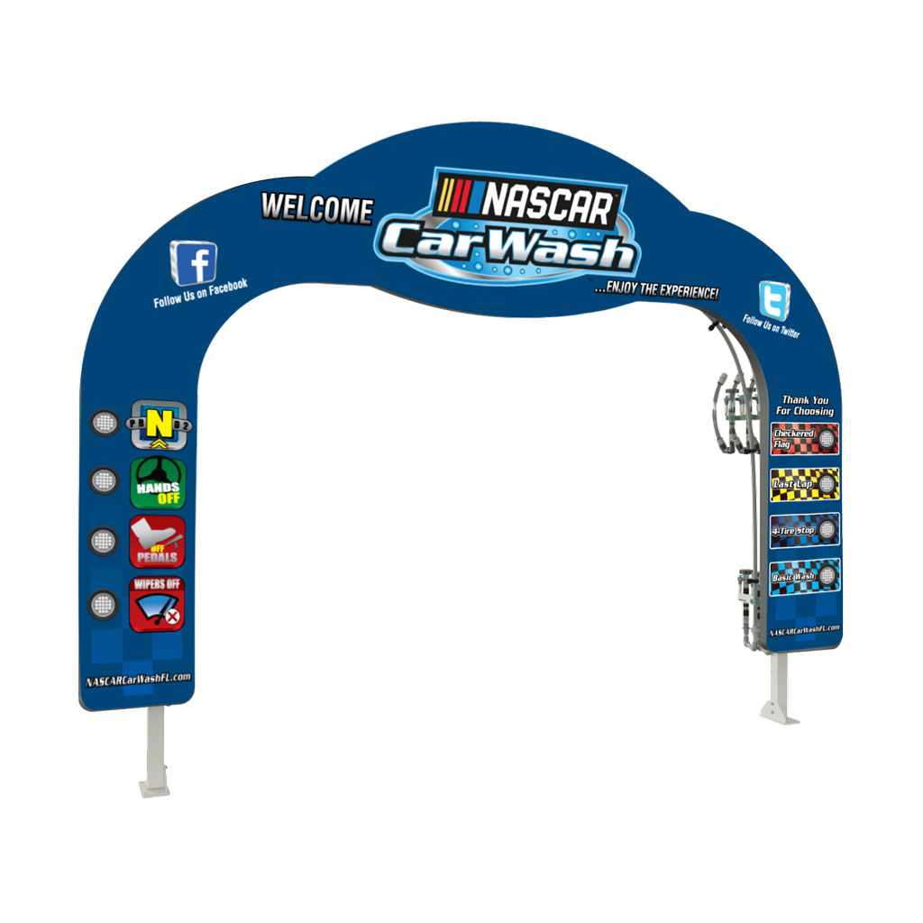 Lit Turbo Lit Backlit Arch Turbo Light Package Ahearn Signs