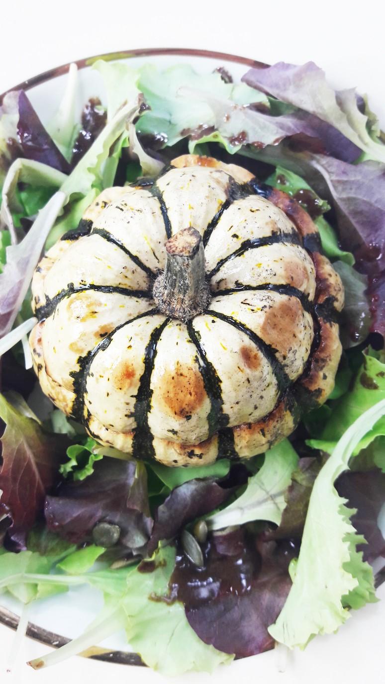 Jack Be Little mini pumpkins + raclette cheese