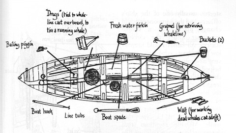 head boat diagram