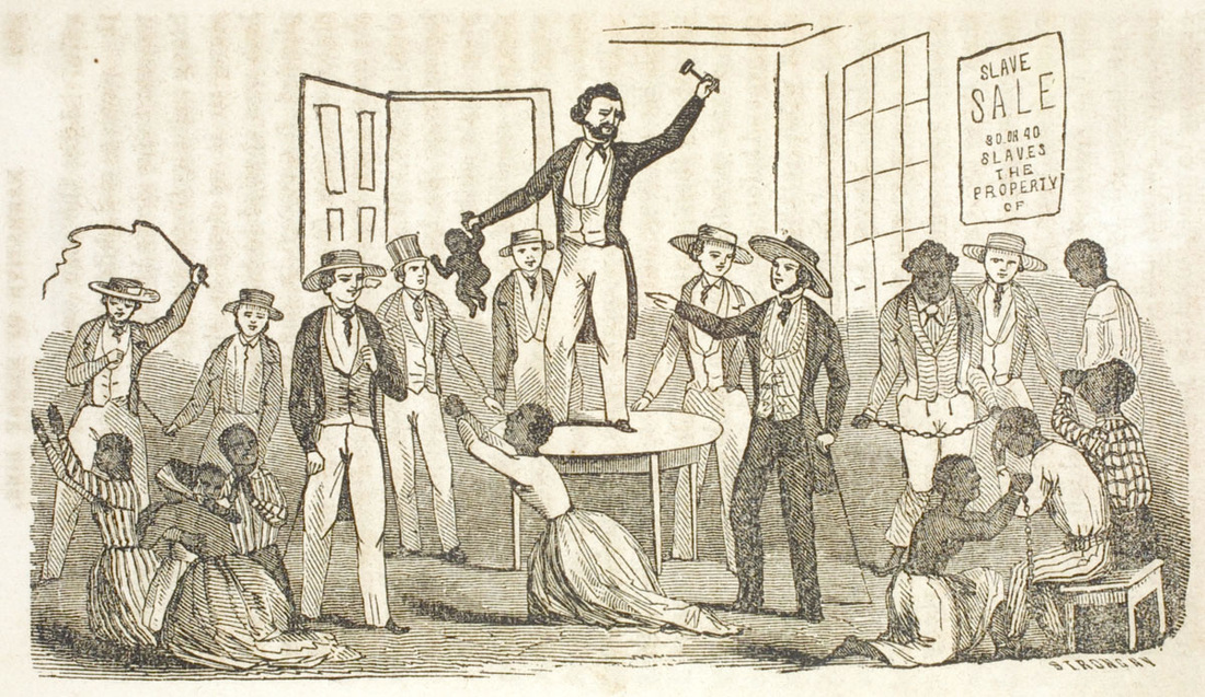 last slave auction in america