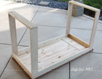 IKEA hack: how to build a white desk with a miter saw and ...