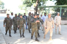 Ministro de Defensa supervisa la frontera